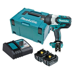 "Makita Makita DTW1002RTJ 18V 5.0Ah 1/2"" Square Cordless Brushless Impact Wrench Kit"
