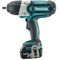 "Makita Makita DTW450RFE 18V 3.0Ah 1/2"" Square Cordless Impact Wrench Combo Kit"