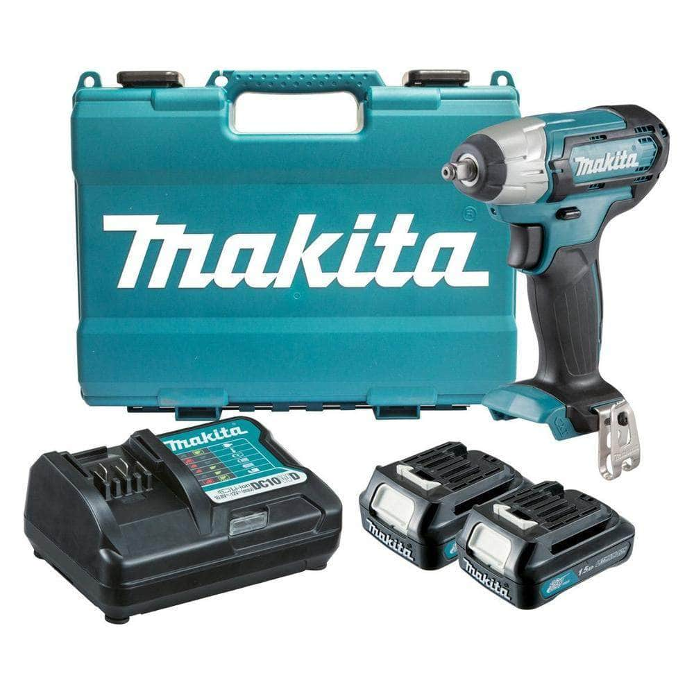"Makita Makita TW140DWYE 12V 1.5Ah MAX 3/8"" Square Cordless Impact Wrench Kit"