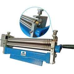 "Metaltech Metaltech 81150 300mm (12"") Manual Rolling Metal Sheet Roller"