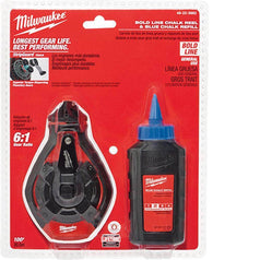 Milwaukee Milwaukee 48223982 30m Blue Bold Line Chalk Reel Kit