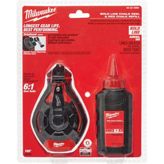 Milwaukee Milwaukee 48223986 30m Red Bold Line Chalk Reel Kit