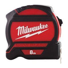 Milwaukee Milwaukee 48227528 Wide Blade 8m Tape Measure