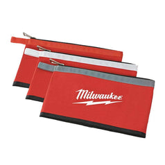 Milwaukee Milwaukee 48228193 3 Pack Canvas Zipper Tool Pouch