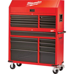Milwaukee Milwaukee 48228500 16 Drawer Steel Storage Roller Cabinet & Tool Chest Set