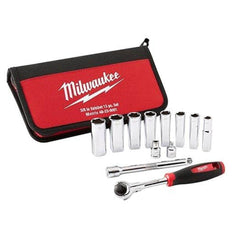 "Milwaukee Milwaukee 48229001 12 Piece Metric 3/8"" Square Drive Socket Set"