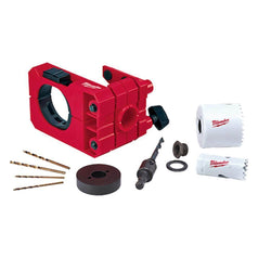 Milwaukee Milwaukee 49224073 Door Lock Installation Hole Dozer Bi-Metal Hole Saw Set