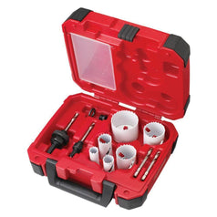 Milwaukee Milwaukee 49224095 10 Piece Hole Dozer Cobalt Bi-Metal Hole Saw Set