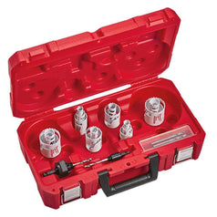 Milwaukee Milwaukee 49224097 18 Piece Electricians Hole Dozer Cobalt Hole Saw Set
