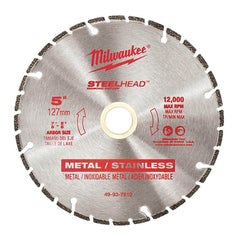 "Milwaukee Milwaukee 49937810 125mm (5"") SteelHead Diamond Cut-Off Saw Blade"