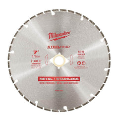 "Milwaukee Milwaukee 49937820 178mm (7"") SteelHead Diamond Cut-Off Saw Blade"