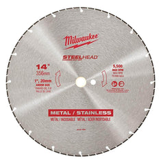 "Milwaukee Milwaukee 49937840 356mm (14"") SteelHead Diamond Cut-Off Saw Blade"