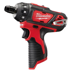 "Milwaukee Milwaukee M12BD-0 12V 1/4"" Hex Cordless 2-Speed Screwdriver (Skin Only)"