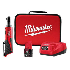 "Milwaukee Milwaukee M12IR-201B 12V 2.0Ah 3/8"" Square Cordless Ratchet Kit"