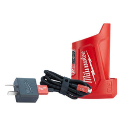 Milwaukee Milwaukee M12TC-0 12V Compact Charger & USB Power Source Kit
