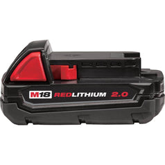 Milwaukee Milwaukee M18B2 18V 2.0AH REDLITHIUM-ION Cordless Battery