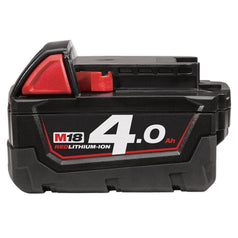 Milwaukee Milwaukee M18B4 18V 4.0AH REDLITHIUM-ION Cordless Battery