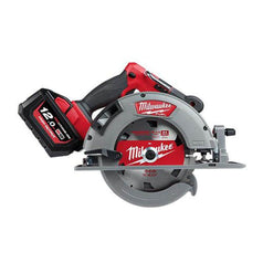 "Milwaukee Milwaukee M18FCS66-121C 18V 12.0Ah 184mm (7-1/4"") Fuel Cordless Circular Saw Kit"