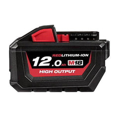 Milwaukee-M18HB12-18V-12-0Ah-REDLITHIUM-ION-Cordless-High-Output-Battery