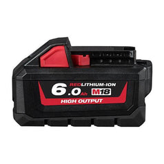 Milwaukee-M18HB6-18V-6-0Ah-REDLITHIUM-ION-Cordless-High-Output-Battery