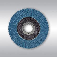 "Makita D-63812 125mm (5"") Z120 Grit Zirconia Angled Flap Disc"