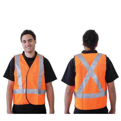 ProChoice ProChoice SVOM0ASX Medium Orange Hi-Vis Safety Vest