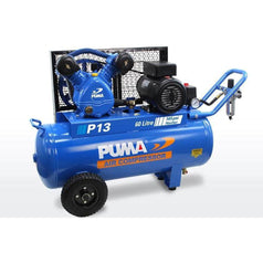 Puma Puma P13 60L 2.2HP 1.65kW 240V 10Ah Belt Drive Air Compressor