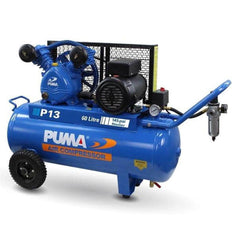 Puma Puma P13 60L 2.2HP 1.65kW 240V Belt Drive Air Compressor