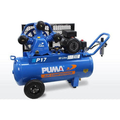 Puma Puma P17 60L 3.0HP 2.2kW 240V 15Ah Belt Drive Air Compressor