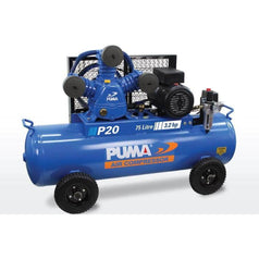 Puma Puma P20 75L 3.2HP 2.4kW 240V 15Ah Belt Drive Air Compressor