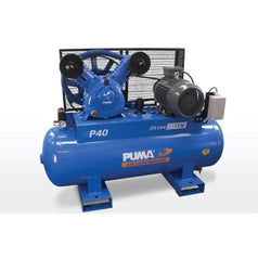 Puma Puma P40 215L 7.5HP 5.5kW 415V 12.2Ah Belt Drive Air Compressor