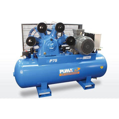 Puma Puma P75 330L 15.0HP 11kW 415V 23Ah Belt Drive Air Compressor