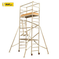 Scaffworx Scaffworx SCAFF3.0 3.0m High Scaffolding Base Pack & Extension Pack