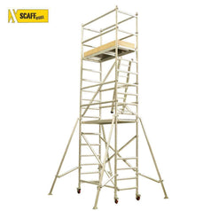 Scaffworx Scaffworx SCAFF3.9 3.9m High Scaffolding Base Pack with Extension & Guard Rail Pack