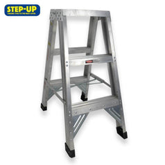 Step-up Step-up ST11202 0.9m Aluminium Double Sided Step Ladder