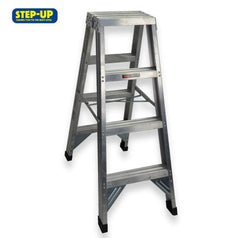 Step-up Step-up ST11203 1.2m Aluminium Double Sided Step Ladder