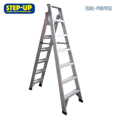 Step-up Step-up ST11205 1.8m Aluminium Double Sided Step Ladder