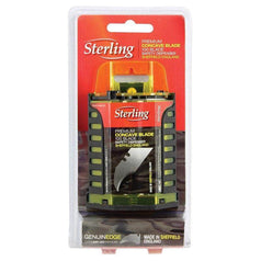 Sterling Sterling 991-TD 100 Piece Tungsten Concave Blade Dispenser