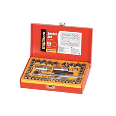 Supatool-S2040-40-Piece-Metric-SAE-1-4-3-8-Square-Drive-Socket-Set