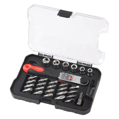 Supatool Supatool S5003 28 Piece Ratchet & Bit Set