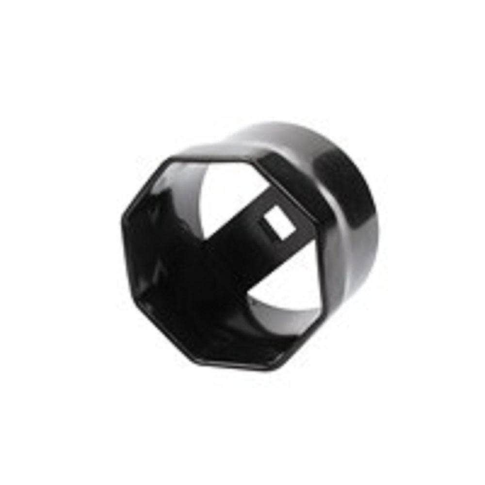 "Toledo Toledo 309023 2 3/8"" 8 Point 3/4"" Square Drive Octagon Wheel Bearing Lock Nut Socket"