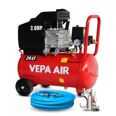 Vepa Vepa Air VADD15-24 24L 2.0HP Direct Drive Air Compressor Combo Kit