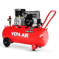 Vepa Vepa VADD30-100 100L 2200W (3.0HP) Belt Driven Air Compressor