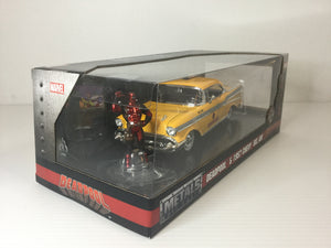 Deadpool & 1957 Chevy Bel Air
