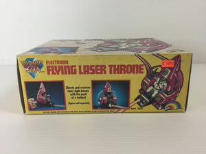 Electronic Flying Laser Throne