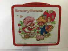 Load image into Gallery viewer, Strawberry Shortcake Metal Lunchbox w/ Thermos