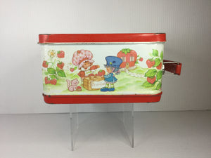 Strawberry Shortcake Metal Lunchbox w/ Thermos
