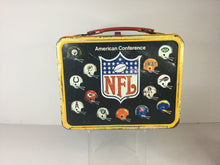 Load image into Gallery viewer, NFL Metal Lunch Box w/ Thermos
