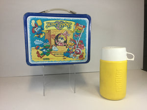 Muppet Babies Metal Lunch box w/ Thermos