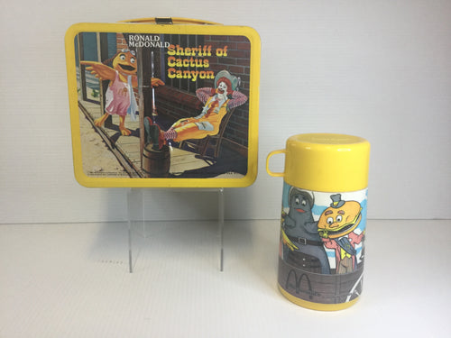 Sherriff of Cactus Canyon  metal lunch box
